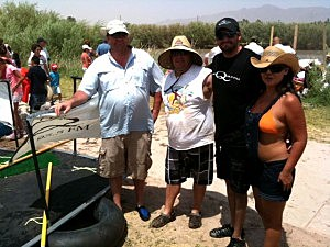KLAQ Crew at the Raft Race