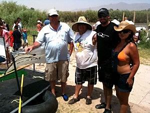 KLAQ Crew at the Raft Race