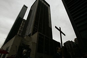 New York Christians Participate In Way Of The Cross Procession