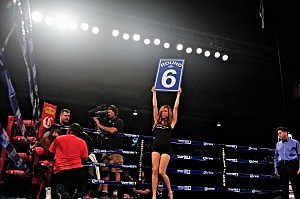 Jeanette Chacon KLAQ ring girl