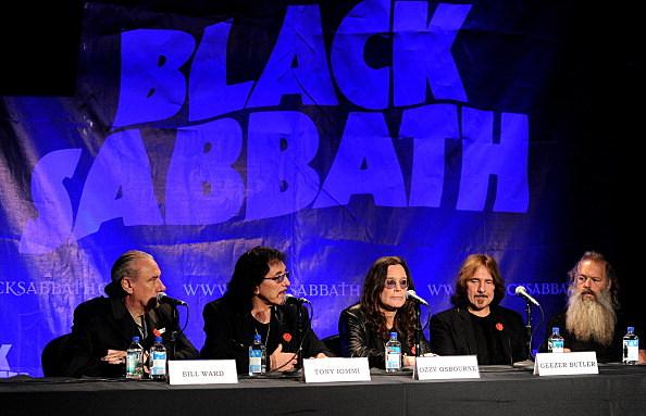 Black Sabbath Courtesy Getty Images/Kevin Winter
