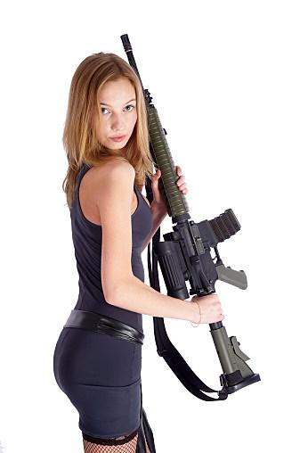 Babe with a Gun