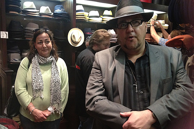 Buzz Adams Hat Shopping