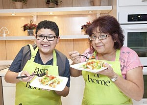 Rico And Diane Rodriguez Prepare A Mother's Day Recipe With Taste Of Home Magazine