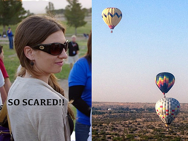 Stephanie Balloon Ride Balloonfest 2012