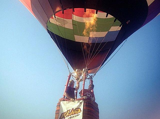 KLAQ Balloon -- Balloonfest 2012
