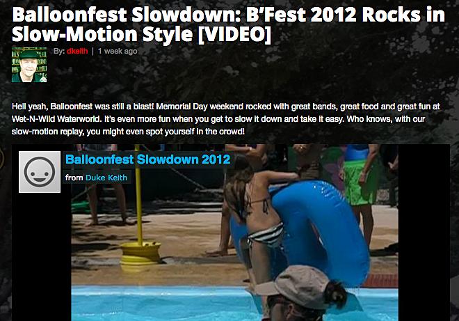 Balloonfest Video
