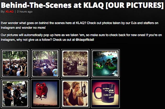 KLAQ Instagram Pics