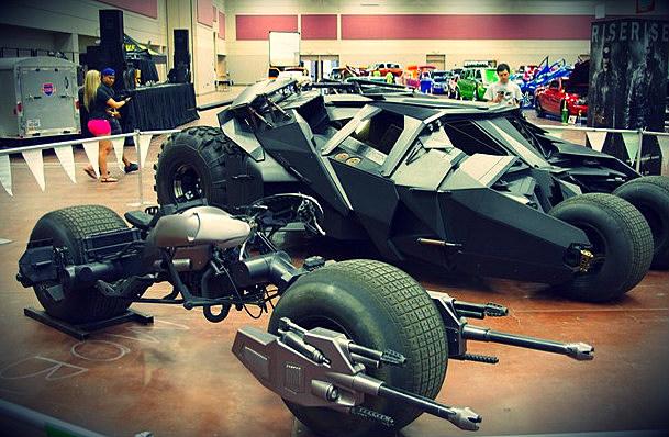 Batmobile El Paso