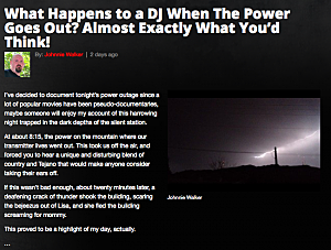 KLAQ Power Outage