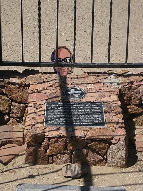 John Wesley Hardin headstone