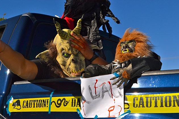 KLAQ Halloween Parade photos 2013