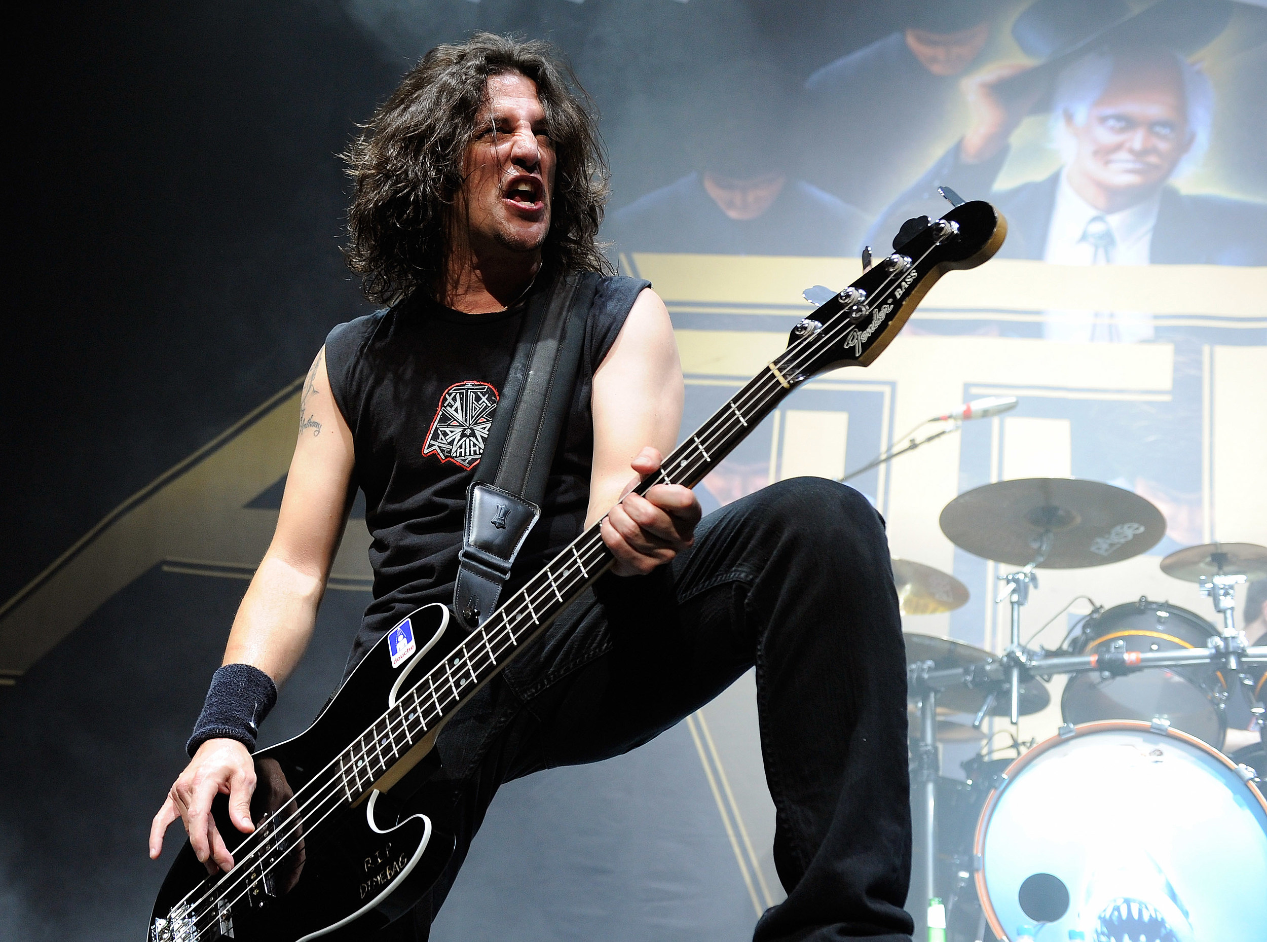 Frank Bello of Anthrax teams up with Dave Ellefson of Megadeth