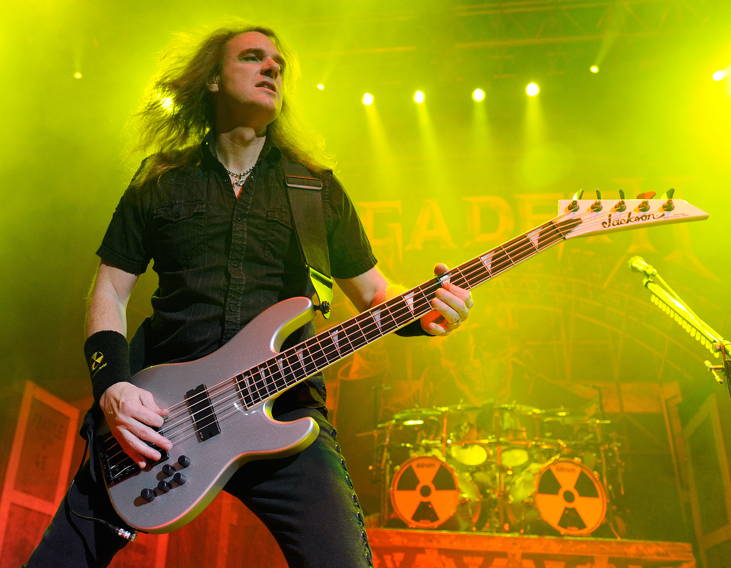 Dave Ellefson of Megadeth teams up with Frank Bello of Anthrax