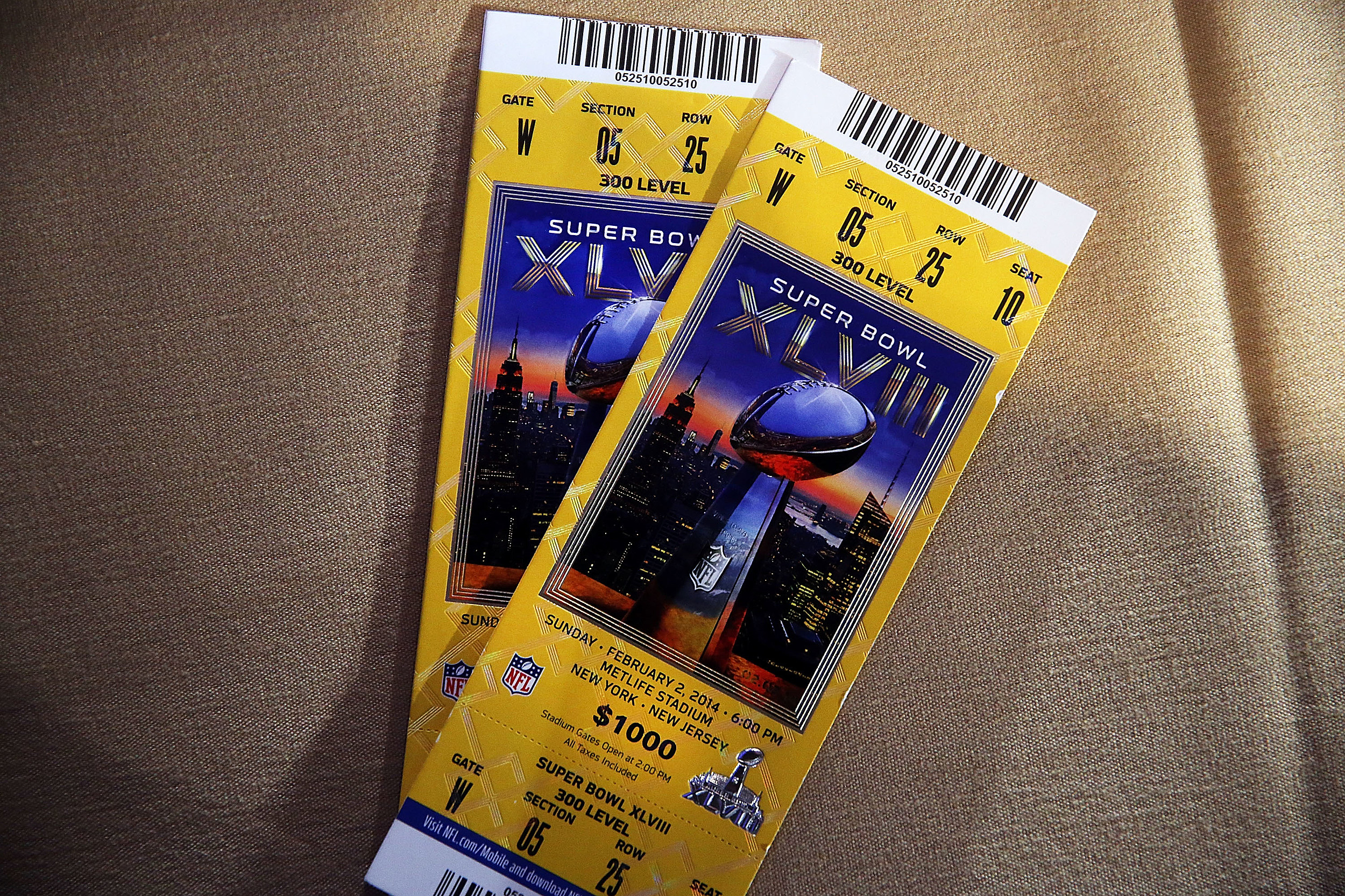 watching commercial gets man free super bowl tickets