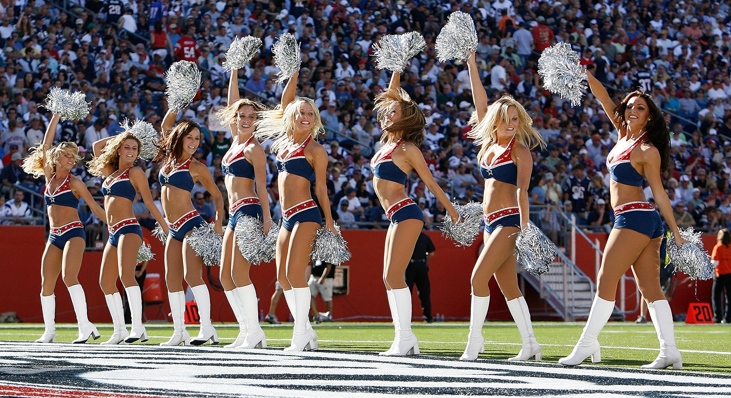 NFL Cheerleader Tryouts