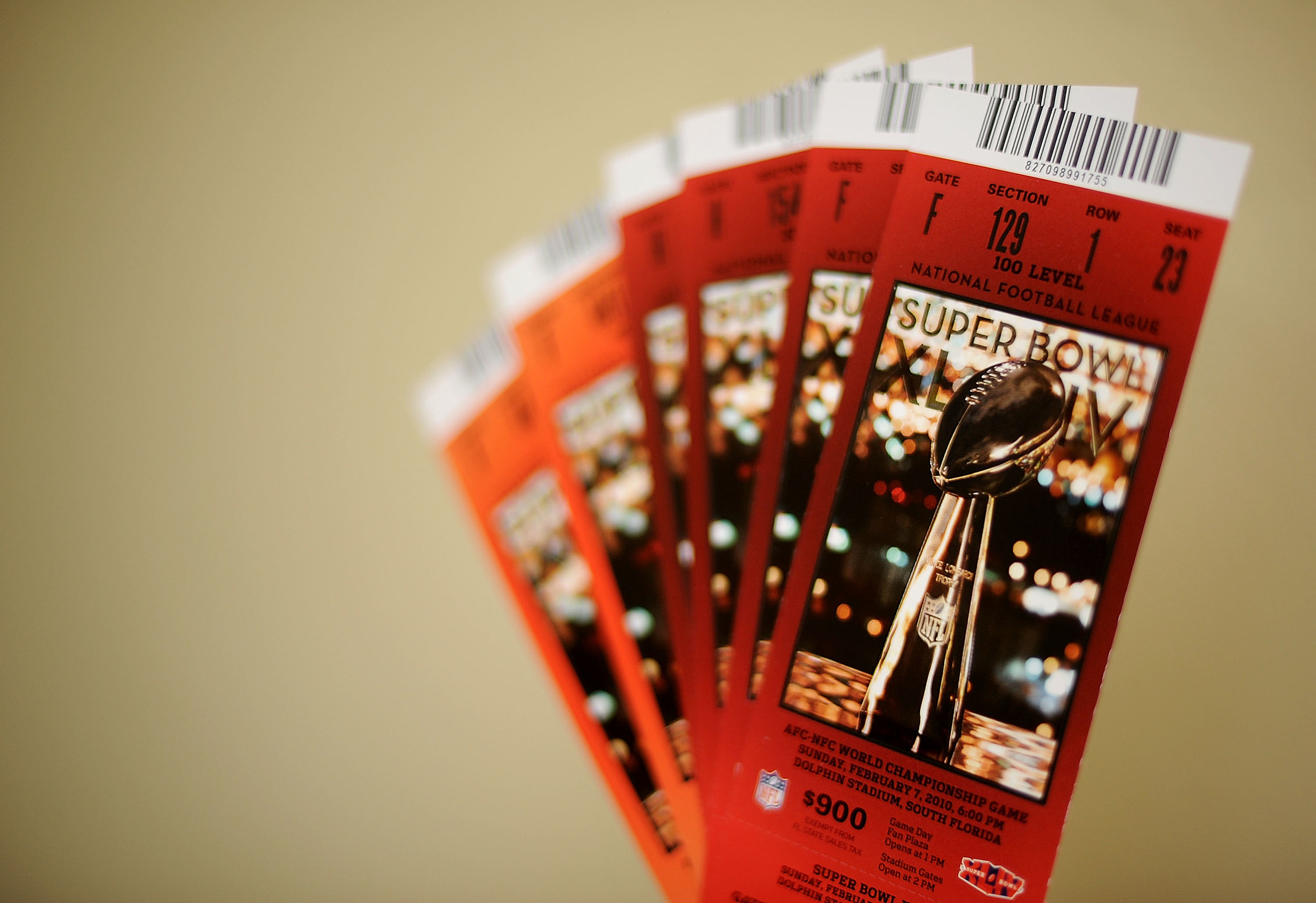 Superbowl tickets available but not cheap