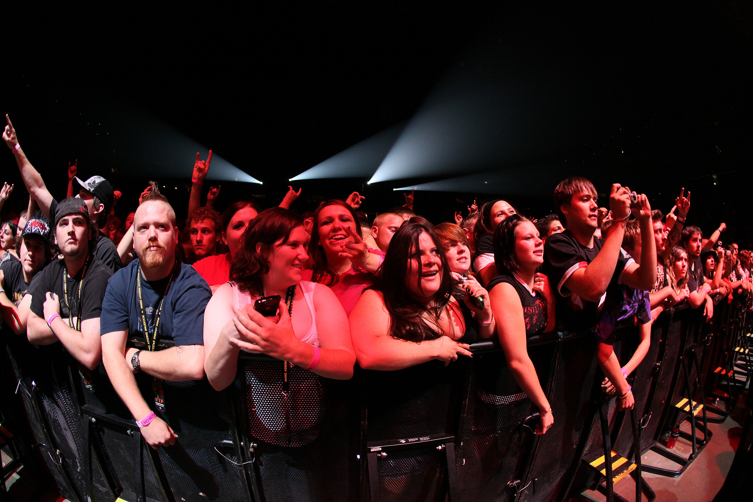 Crowd at Stone Sour show