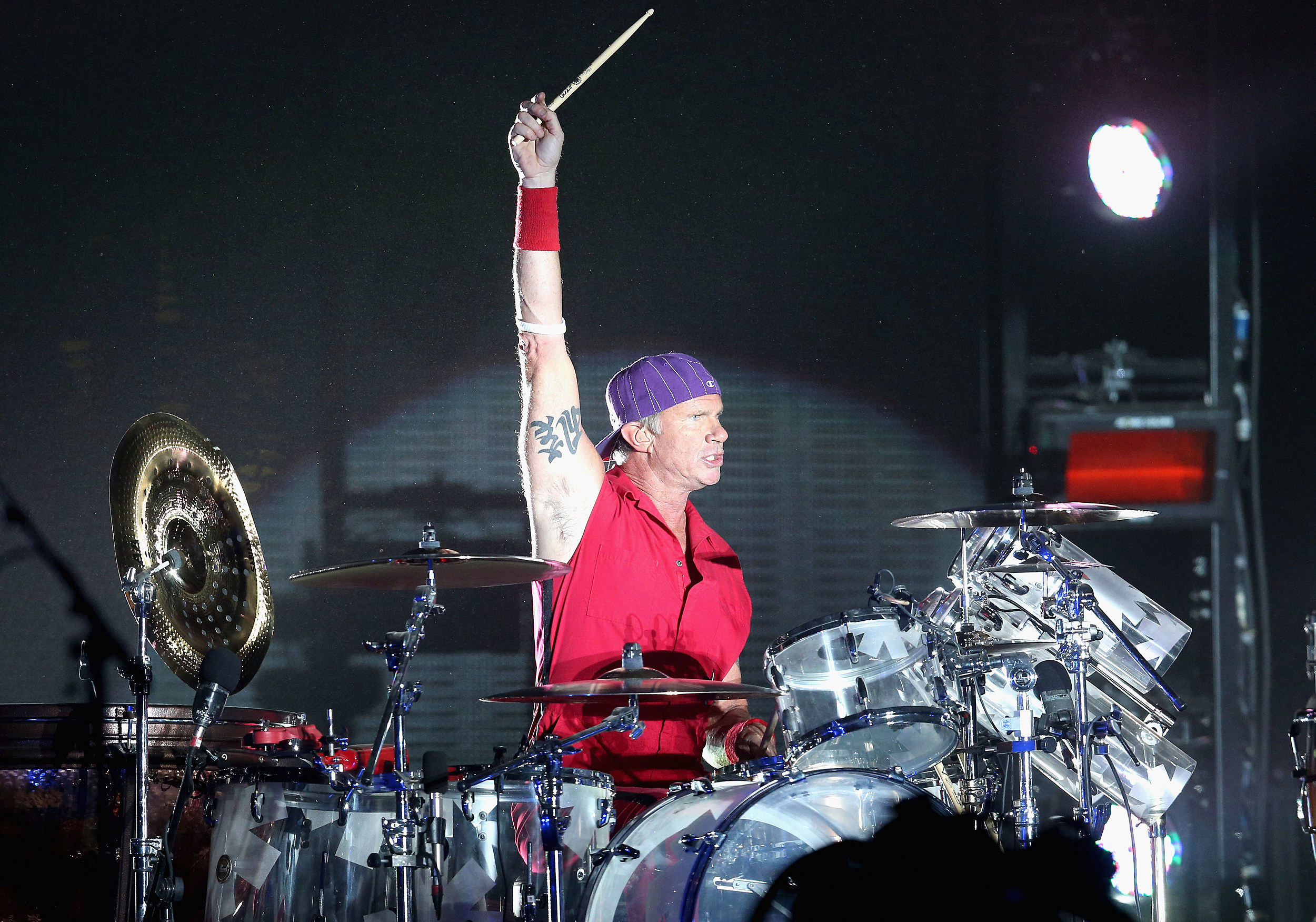red hot chili pepper drummer to take on will ferrell in drum competition