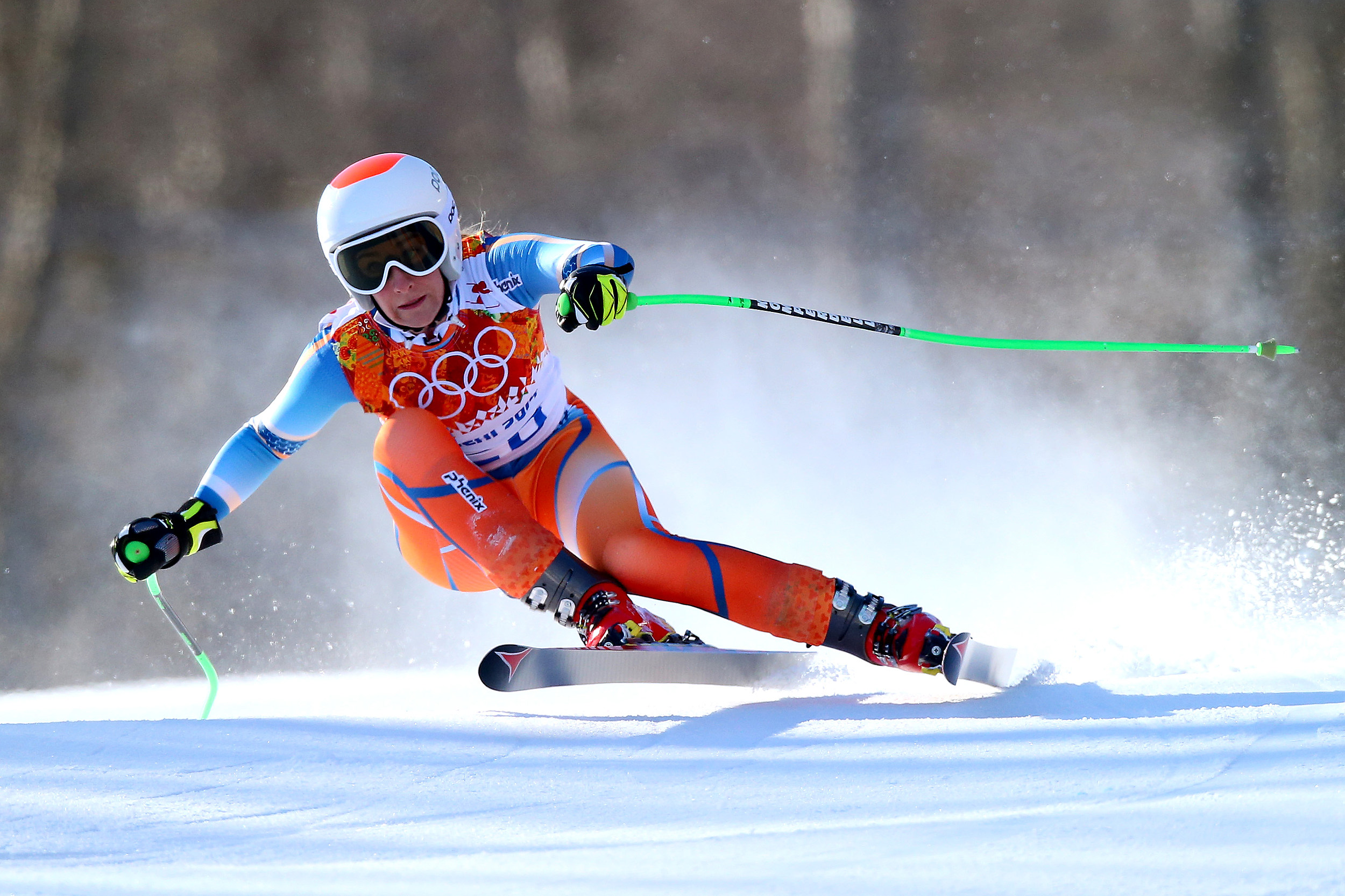 lebanese olympic skier topless photo