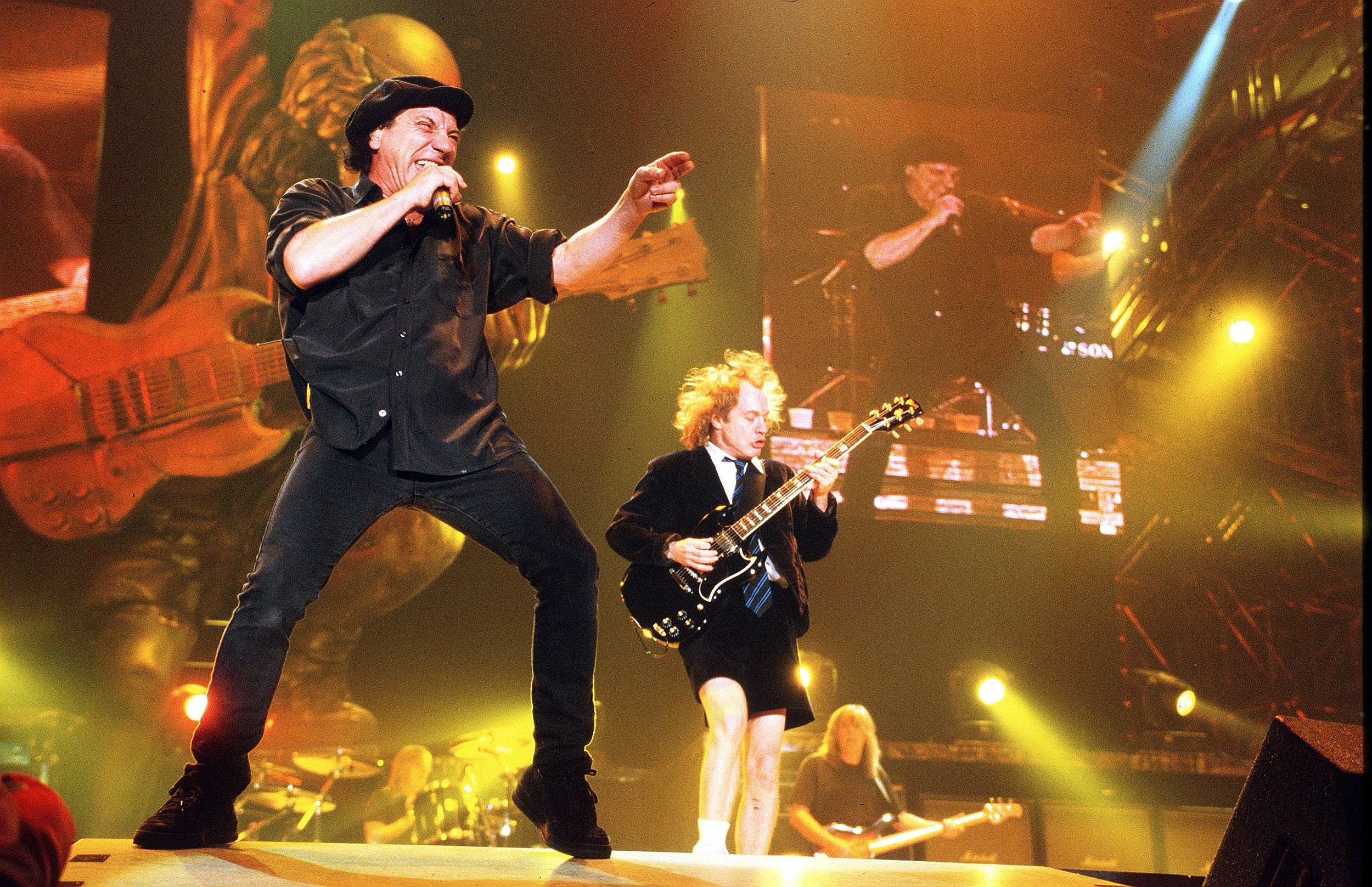 AC/DC and Van Halen benig very secretive
