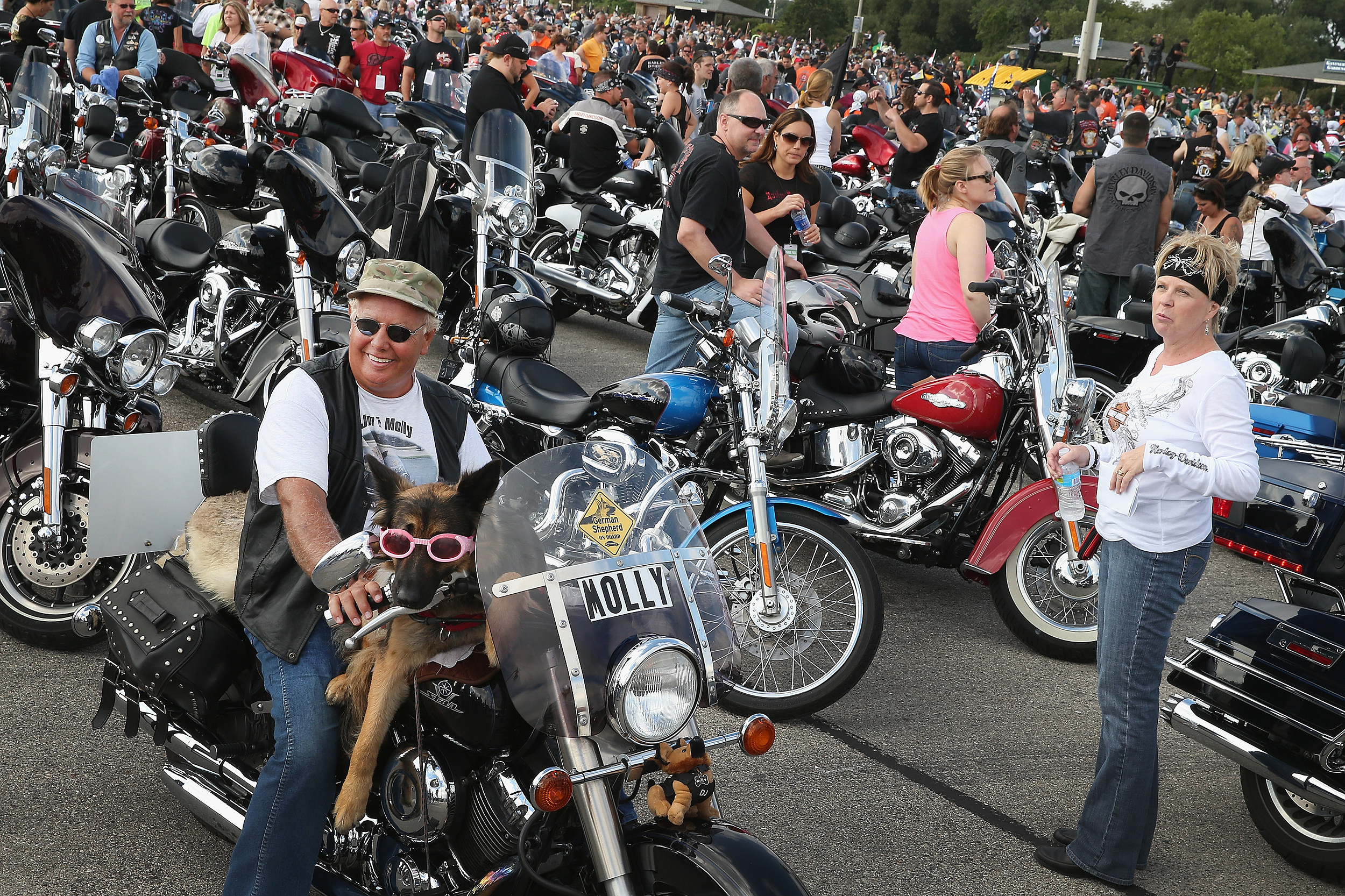 motorcycle run to promote motorcyclist rights