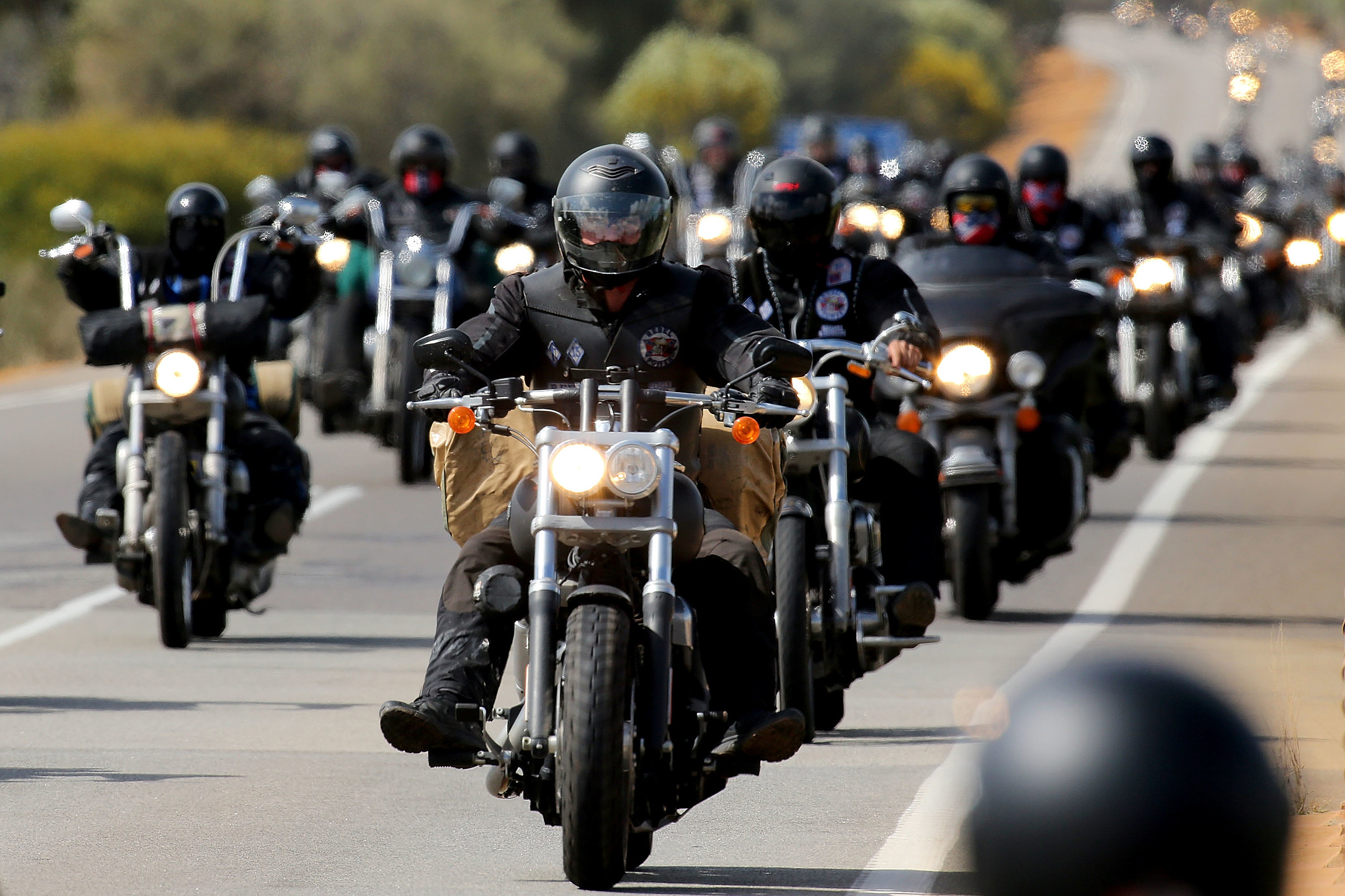 El Paso area bikers hold run to benefit _________________