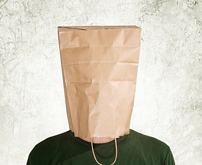 Speed dating with bags on head