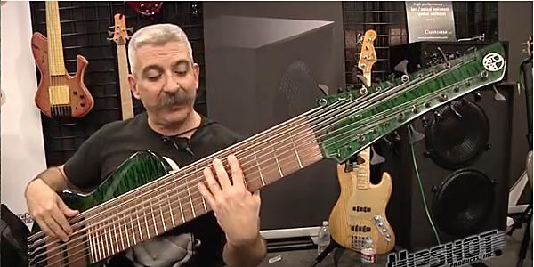 24 String Bass Godzilla Price : man builds gigantic 24 string bass he calls 39 godzilla 39 ~ Russianpoet.info Haus und Dekorationen