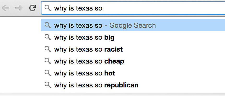 Why is Texas So