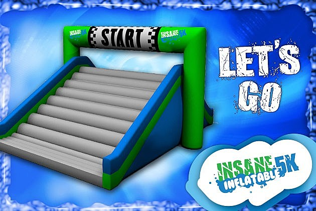 The Insane Inflatable 5K is coming to Ascarate Park on Sunday, March 25!