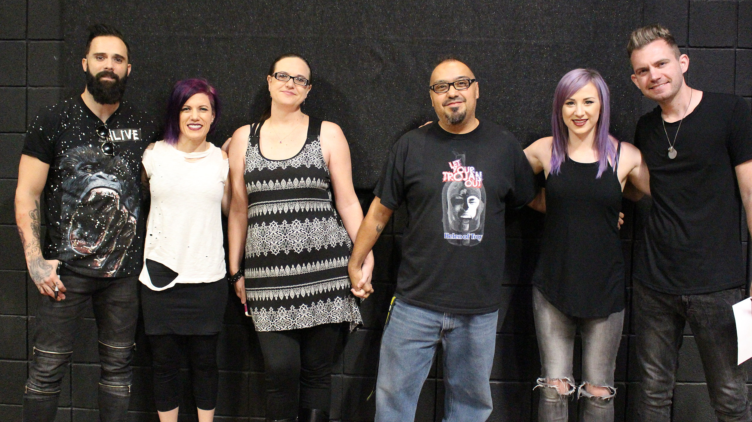Skillet Acoustic Show Meet And Greet Photos