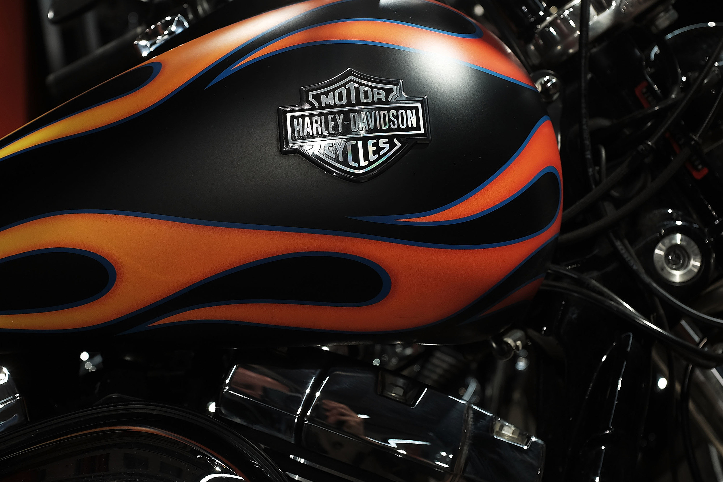 Harley Davidson Quarterly Profits Fall Over 40 Percent
