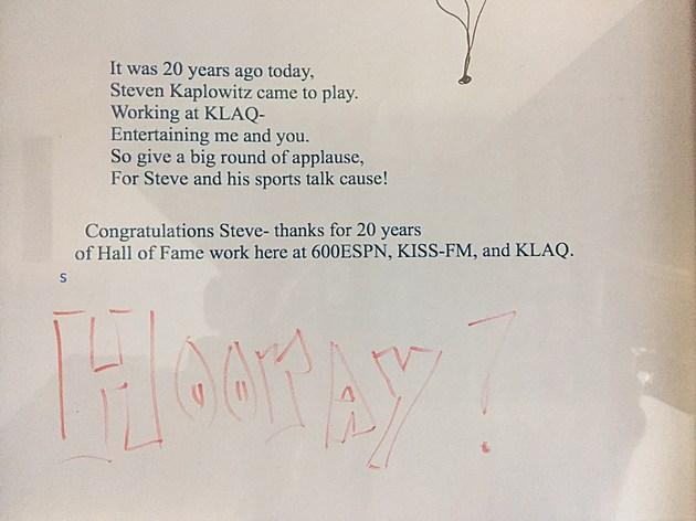 Kaplowitz Anniversary Poem