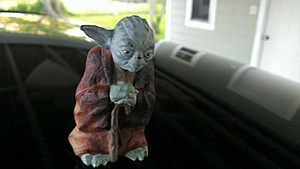 Yoda, lightly toasted, 20 years later
