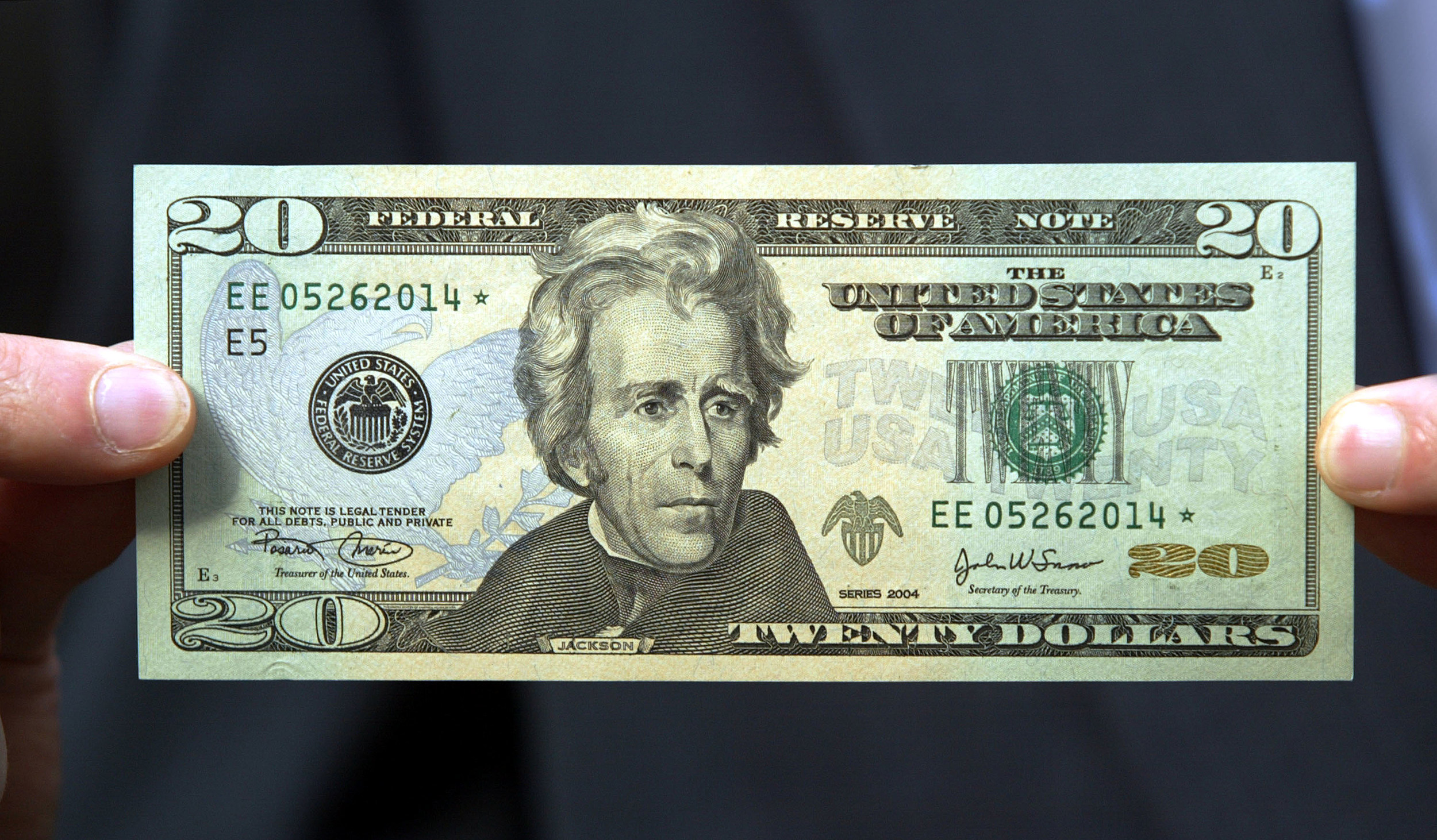 Newly Redesigned 20 Dollar Bill unveiled in Washington