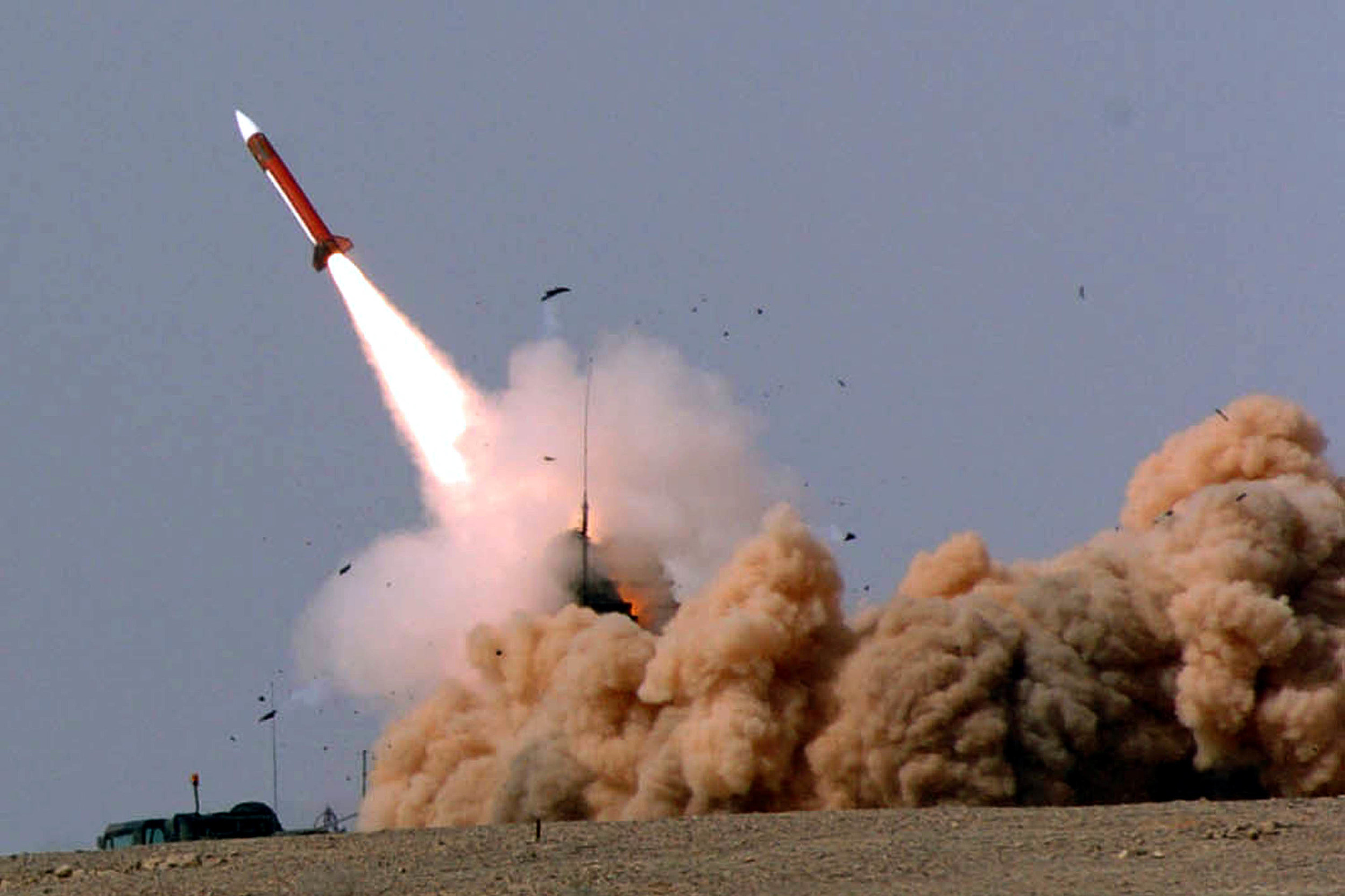 Israel Fires Patriot Missile In Joint US-Israel Air Defense Exercise
