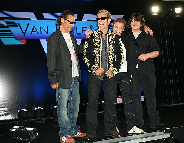 Van Halen Press Conference To Announce Their New Tour