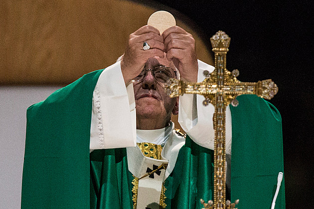 Pope Francis Celebrates Mass At Madison Square Garden In New York