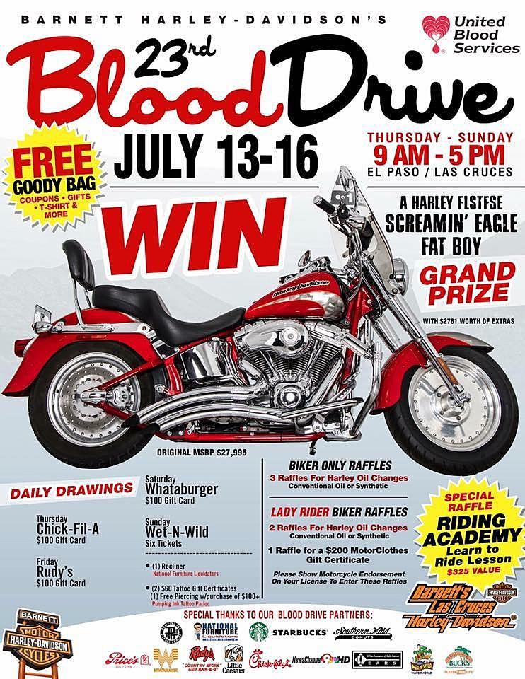 Facebook/Barnett Harley Davidson