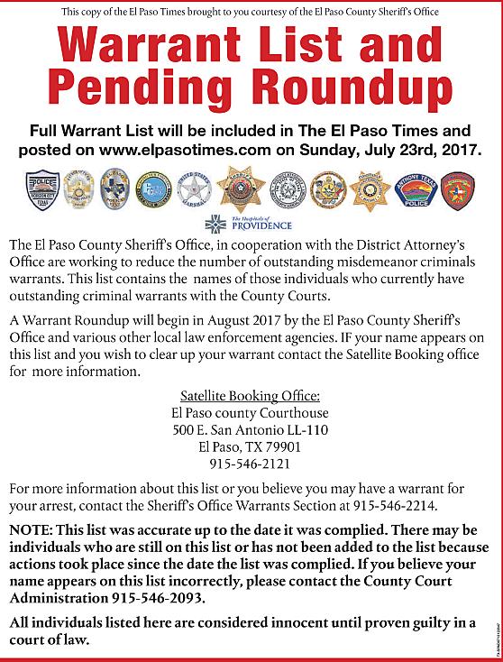 Photo, EP Times/El Paso Sheriffs Office