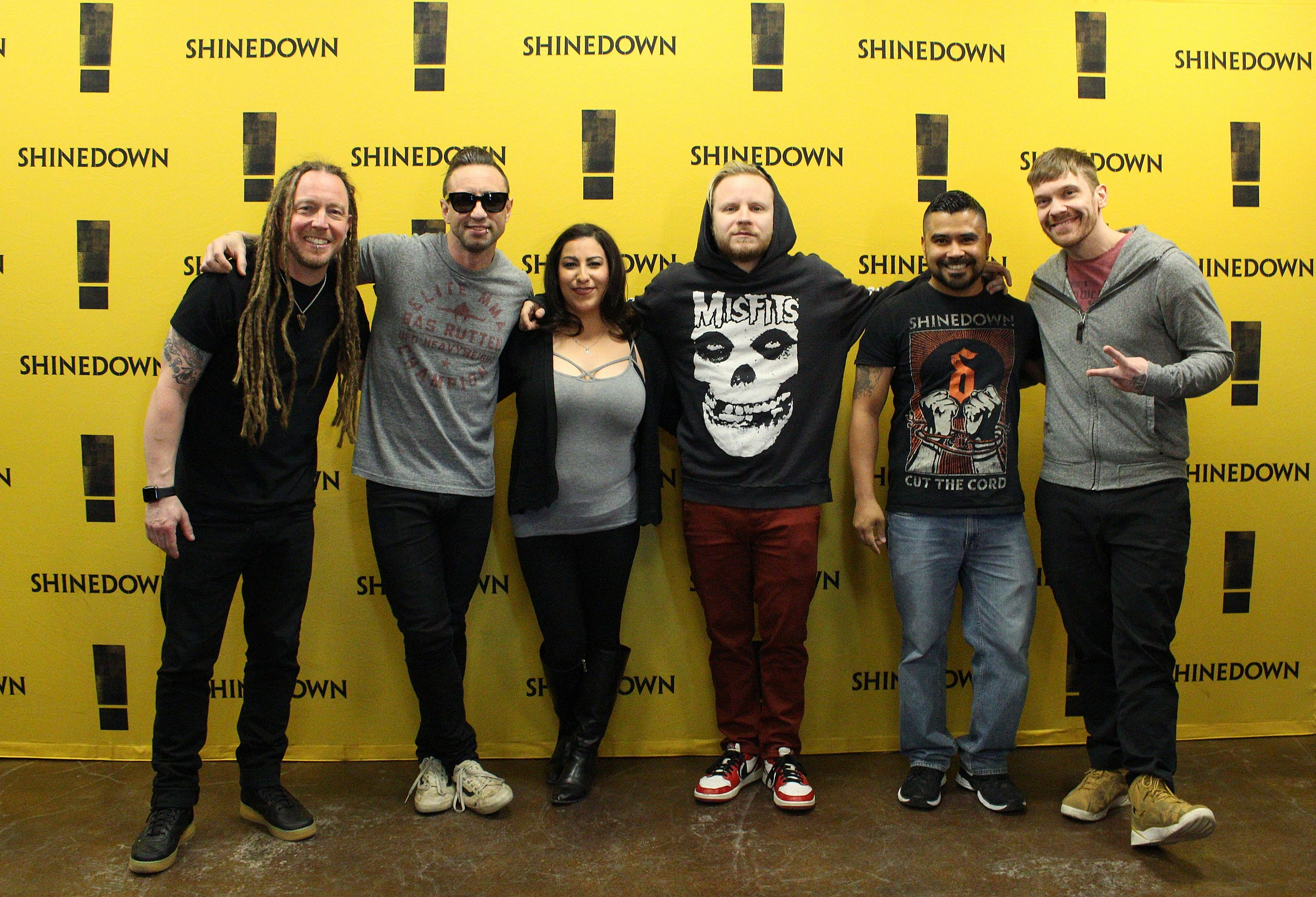Shinedown Meet Greet Photos